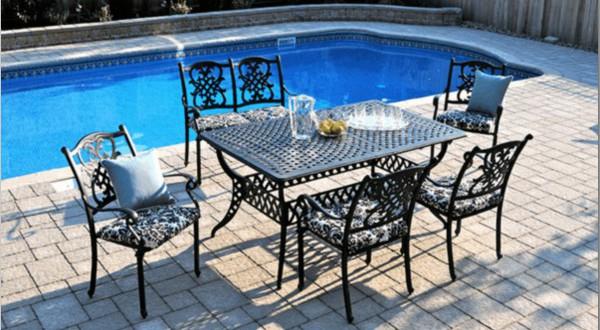 mobilier fer forg tendances de l 39 t rayon jardin. Black Bedroom Furniture Sets. Home Design Ideas